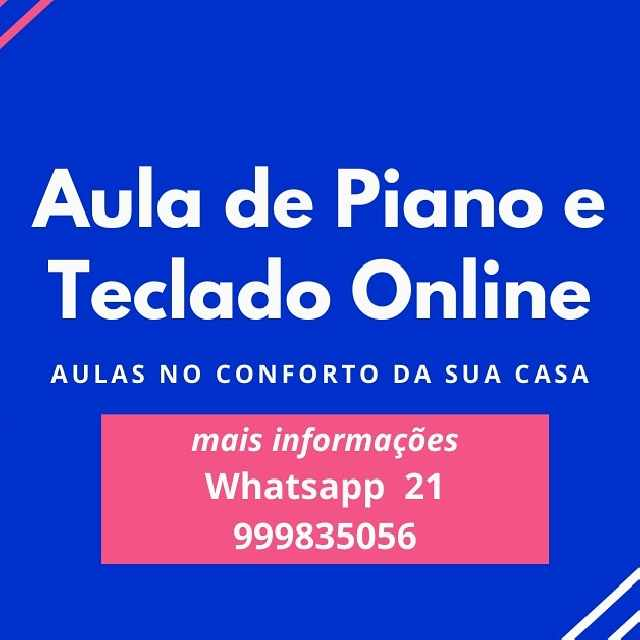 Foto 1 - Aula On Line Piano Teclado