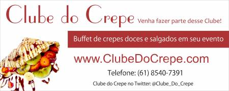 Foto 1 - Buffet de crepes doces e salgados - clube do crepe