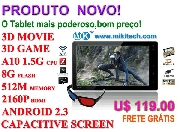 Tablet PC 7 suporta 3d video e 3d jogo -- mikitech